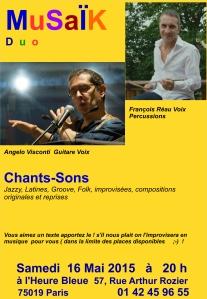Musaïk Duo François Pascal 16 Mai